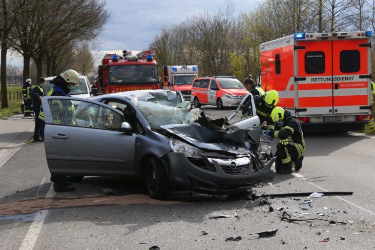 Tödlicher Verkehrsunfall auf dem Amtsvennweg