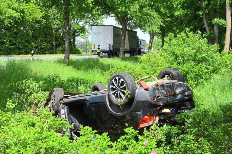 Verkehrsunfall auf der B 70 > Alstätte