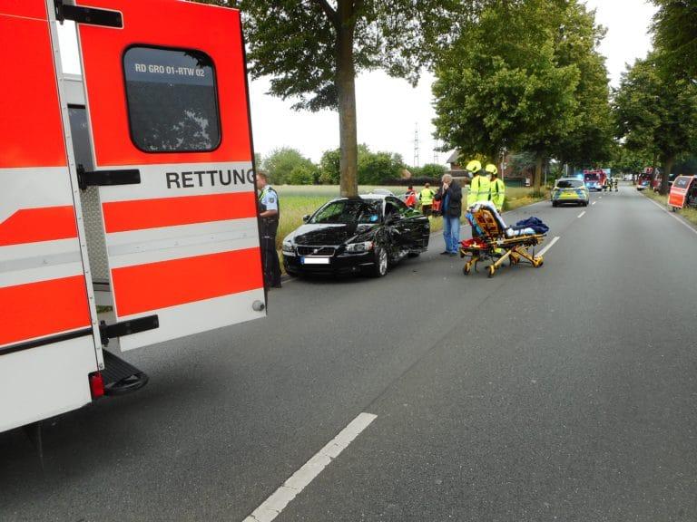 Verkehrsunfall auf der Gronauer Straße verlief glimpflich