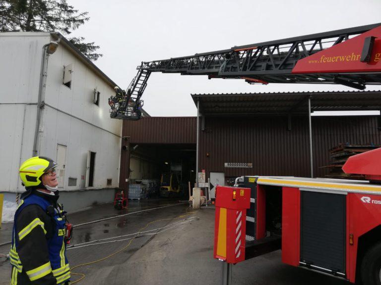 Maschinenbrand an der Bessemer Straße