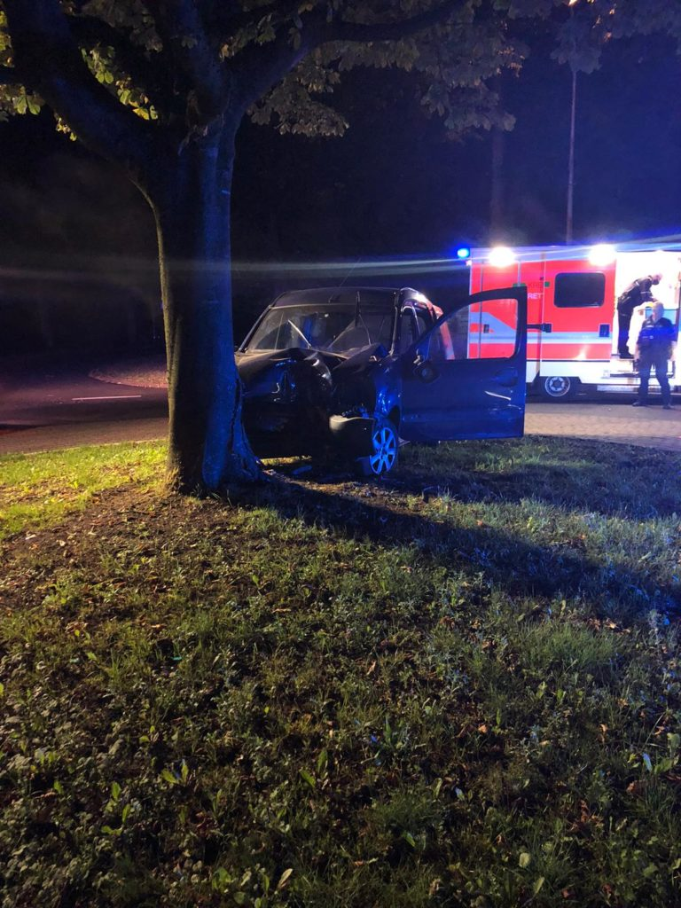 Verkehrsunfall auf der Alstätter Straße