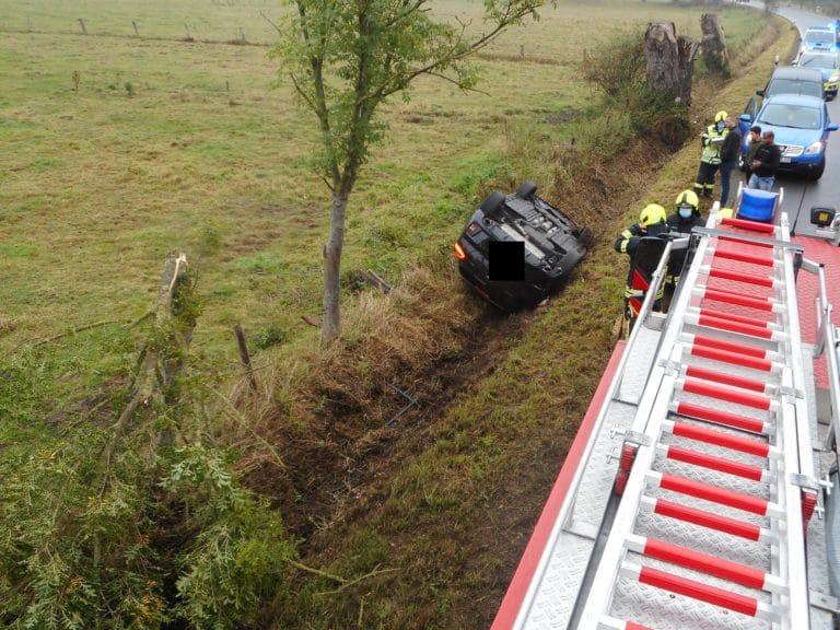 Verkehrsunfall auf der Steinfurter Straße