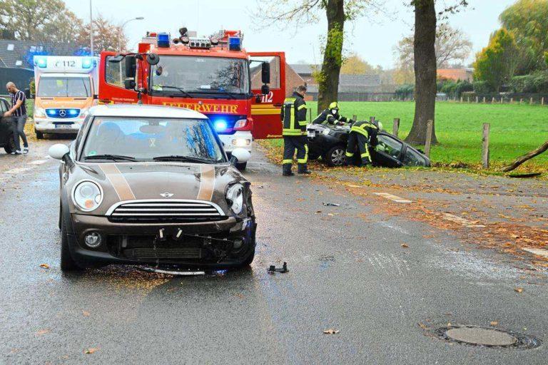 Verkehrsunfall auf der Klosterstraße