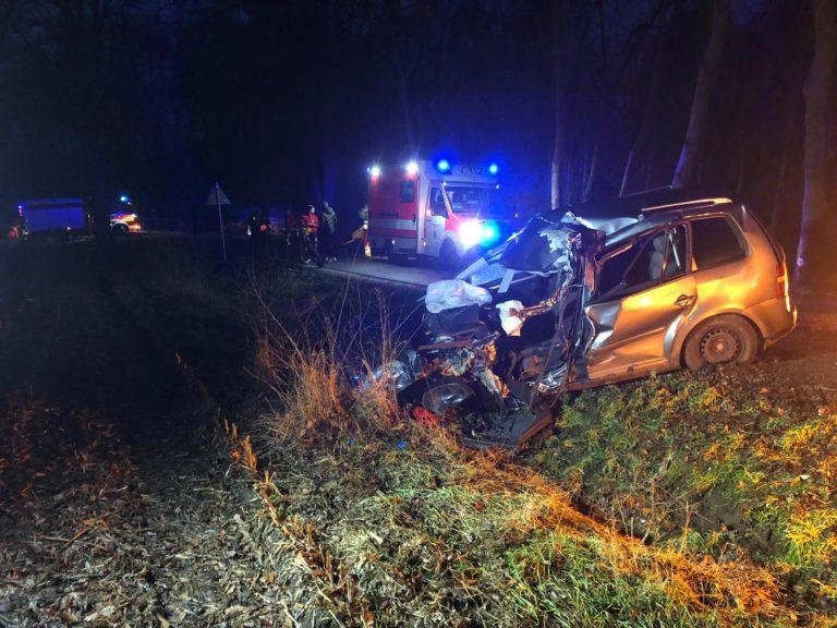 """Schwerer Verkehrsunfall auf """"Am Fürstenbusch"""""""