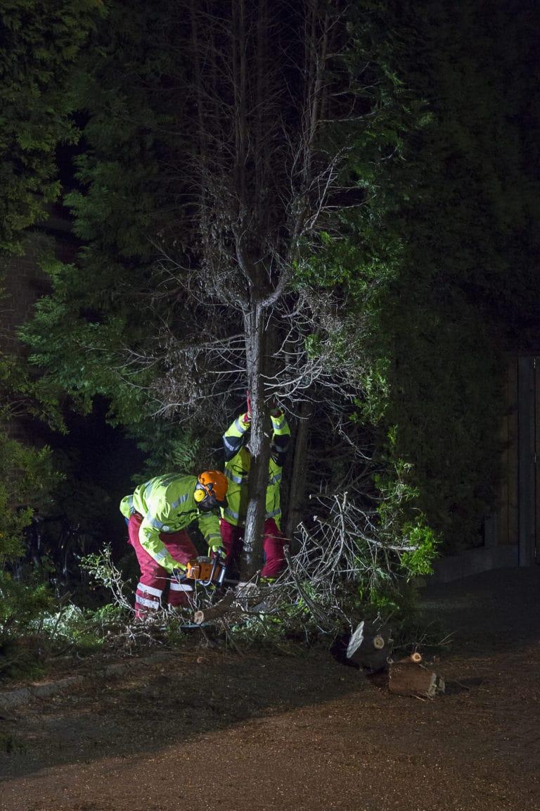 THW unterstützt Feuerwehr und Rettungsdienst bei Personenrettung